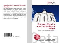 Обложка Orthodox Church in America Exarchate of Mexico