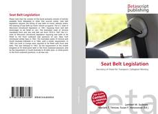 Buchcover von Seat Belt Legislation