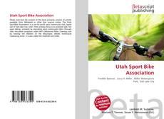 Bookcover of Utah Sport Bike Association