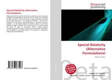 Bookcover of Special Relativity (Alternative Formulations)