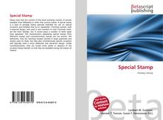 Bookcover of Special Stamp
