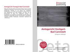 Portada del libro de Amtsgericht Stuttgart-Bad Cannstatt