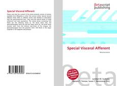Bookcover of Special Visceral Afferent