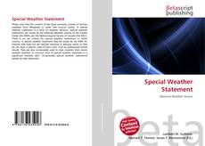 Buchcover von Special Weather Statement