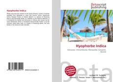 Bookcover of Hyophorbe Indica