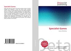 Bookcover of Specialist Games