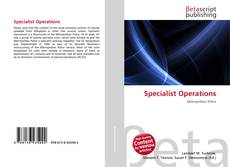 Capa do livro de Specialist Operations