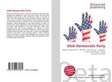 Copertina di Utah Democratic Party