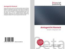 Bookcover of Amtsgericht Rostock