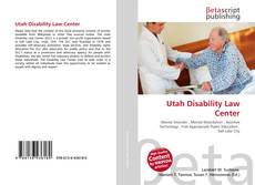 Buchcover von Utah Disability Law Center