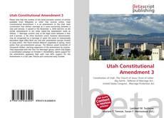 Borítókép a  Utah Constitutional Amendment 3 - hoz