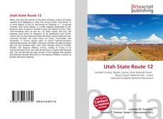 Bookcover of Utah State Route 12