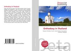 Bookcover of Orthodoxy in Thailand