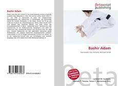 Portada del libro de Bashir Adam
