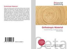 Orthotropic Material的封面
