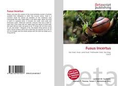 Обложка Fusus Incertus