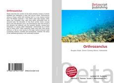 Bookcover of Orthrozanclus