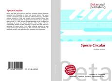 Bookcover of Specie Circular