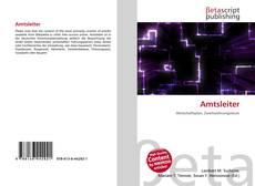 Buchcover von Amtsleiter