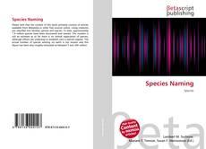 Buchcover von Species Naming