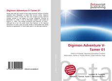 Capa do livro de Digimon Adventure V-Tamer 01