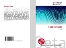 Buchcover von Species Tulips