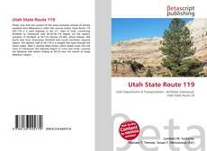 Copertina di Utah State Route 119