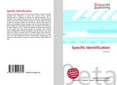Buchcover von Specific Identification