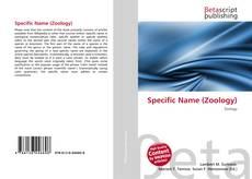 Borítókép a  Specific Name (Zoology) - hoz