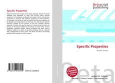Copertina di Specific Properties