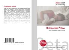 Bookcover of Orthopedic Pillow