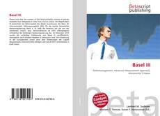 Portada del libro de Basel III