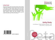 Buchcover von Unity Party