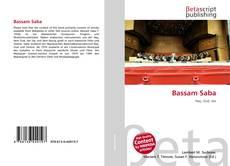 Bookcover of Bassam Saba