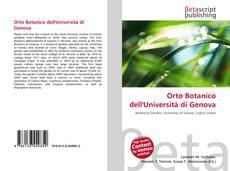 Copertina di Orto Botanico dell'Università di Genova