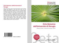 Buchcover von Orto Botanico dell'Università di Perugia
