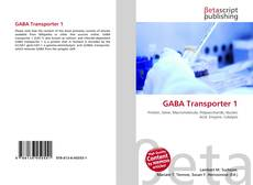 Bookcover of GABA Transporter 1