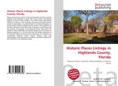 Buchcover von Historic Places Listings in Highlands County, Florida