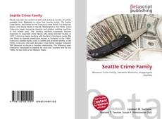 Seattle Crime Family kitap kapağı