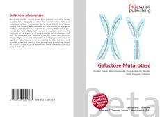 Galactose Mutarotase的封面