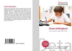 Bookcover of Orton-Gillingham
