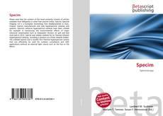 Capa do livro de Specim