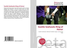 Bookcover of Seattle Seahawks Ring of Honor