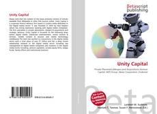 Buchcover von Unity Capital