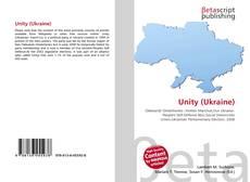 Buchcover von Unity (Ukraine)