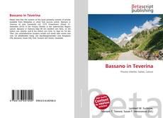 Copertina di Bassano in Teverina