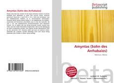 Capa do livro de Amyntas (Sohn des Arrhabaios)