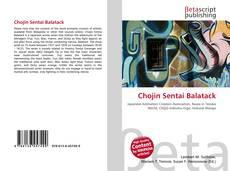 Portada del libro de Chojin Sentai Balatack
