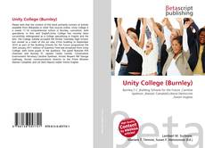 Bookcover of Unity College (Burnley)
