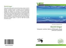 Bookcover of David Ungar